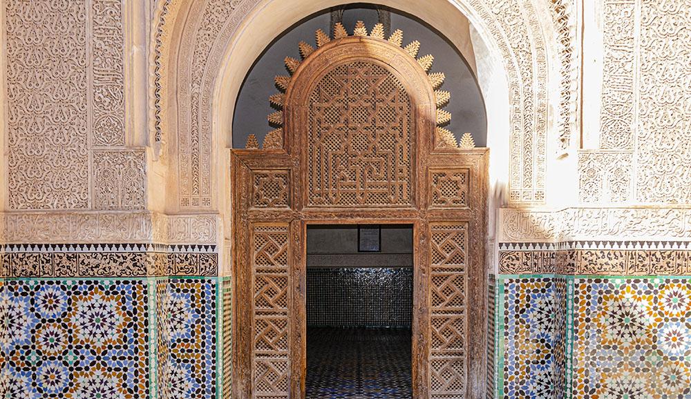 Meuble double vasque de salle de bain marocaine, double vasque ...