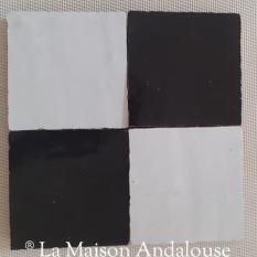 Zellige 10x10 carré damier
