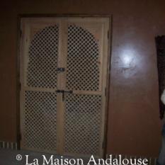 Porte Moucharabieh en situation ref2