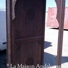 Porte Mauresque 1 battant