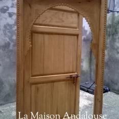 Porte Mauresque brut