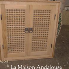 Petite porte Moucharabieh sur mesure