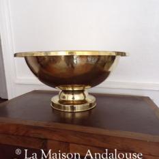 Vasque bol cuivre martelé