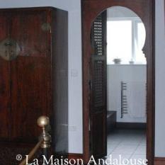 Porte de chambre moucharabieh
