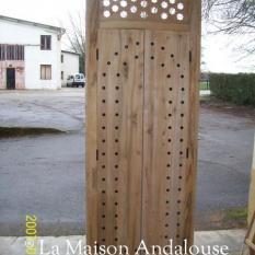 Porte imposte étoile brut