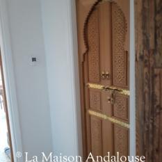 Porte marocaine en situation 5