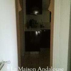 Arche bois couloir