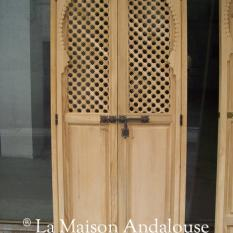 Porte moucharabieh