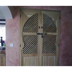 Porte de placard moucharabieh