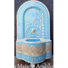 fontaine murale zelligh 70x45 cm