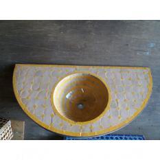 Lavabo demi-lune 90x45 cm prix 390 euros