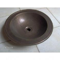 Vasque cuivre mat