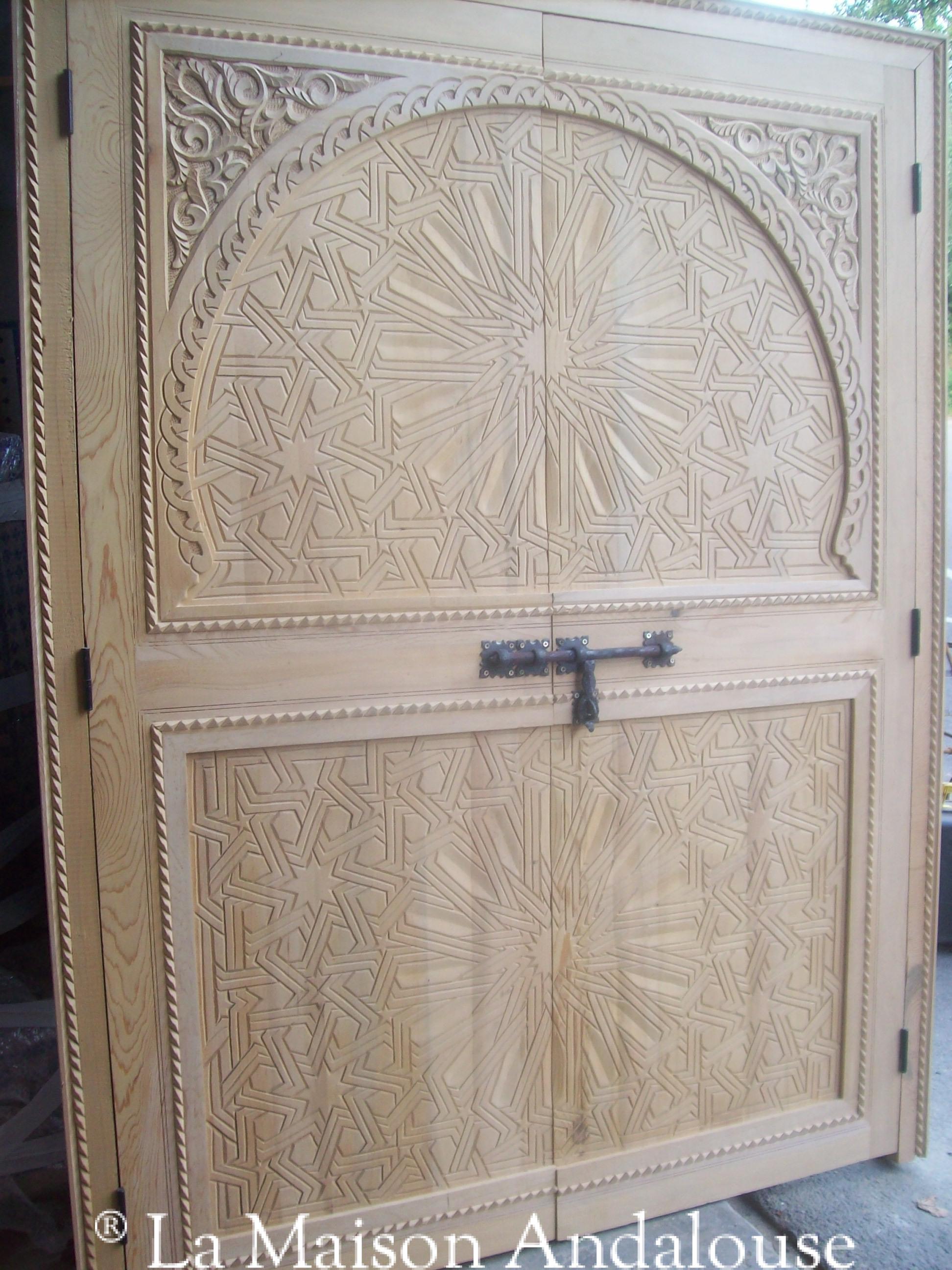 La Maison Andalouse Vente De Meubles Marocains Meuble En Fer Forg  # Porte De Meuble En Fer Forge