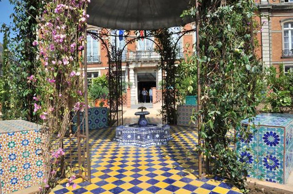 Jardin andalous Boulogne sur Mer